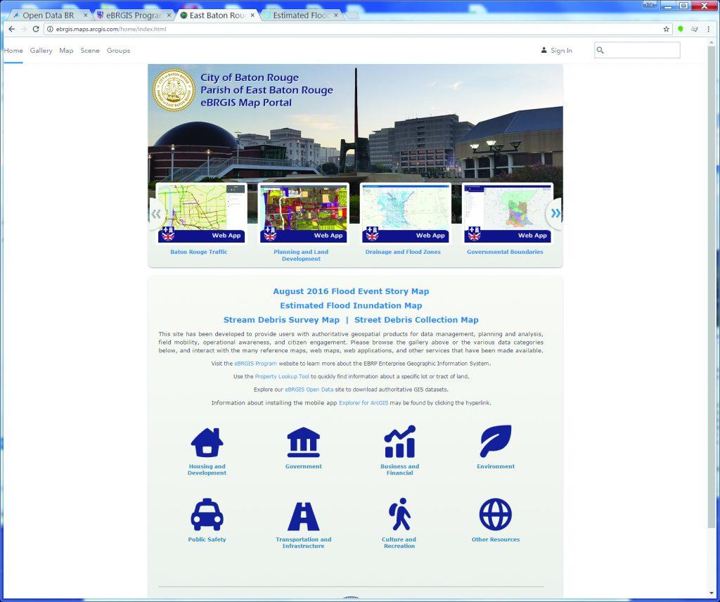 Eric Romero Baton Rouge Map Portal