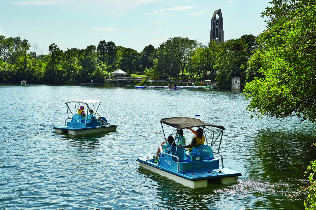 Paddle boats - City of Naperville