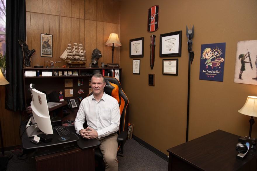 Chris Hoke – University of Jamestown